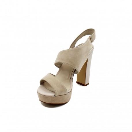 cheap for discount cba04 9498b LUCIANO BARACHINI sandalo camoscio - Shoosing