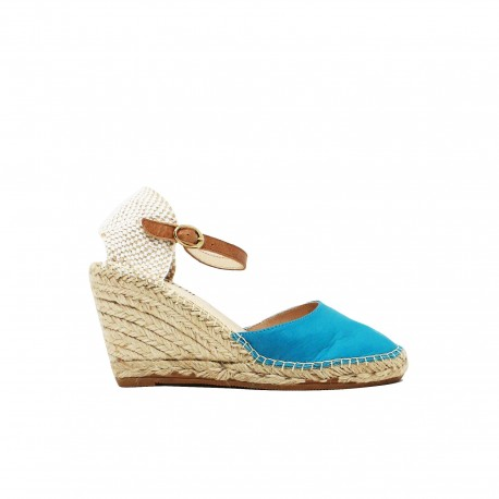 IL LACCIO Sandali Velvet Azzurri