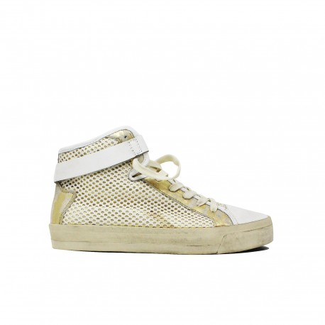 CRIME LONDON Sneakers Gold 21217