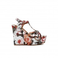 JEFFREY CAMPBELL Sandali Swansong Floral