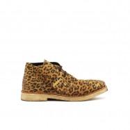 BRONX Desert Boots Leopard