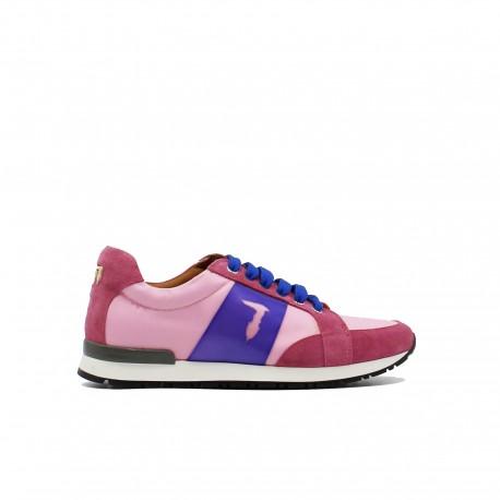TRUSSARDI Sneaker Rosa e Viola