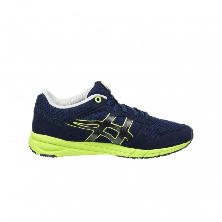 new products eb59c 60050 Onitsuka Tiger Sneaker Shaw Runner Blu/Lime - Shoosing
