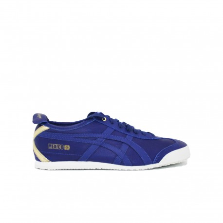 ONITSUKA TIGER Mexico 66 Mens Leather Trainers Dark Blue
