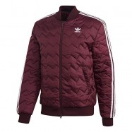 ADIDAS SST Quilted, Giacca Sportiva Uomo Bordeau