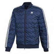 ADIDAS SST Quilted, Giacca Sportiva Uomo Blu: